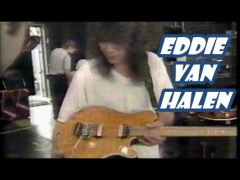 Eddie Van Halen talks about his new ERNIE BALL GUITAR