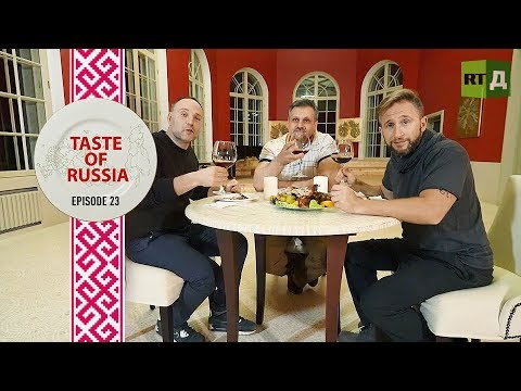 A Hot Orange Bath for Donald Duck - Taste of Russia Ep. 23