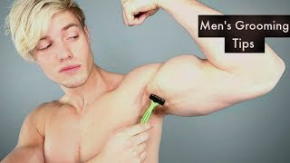 FULL Body GROOMING and MANSCAPING Routine | Men