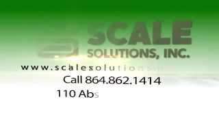 Industrial Scales in Greenville County SC | Scale Solutions Inc
