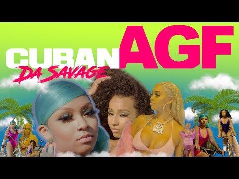 Смотреть клип Cuban Doll - Agf Feat Rubi Rose & Renni Rucci