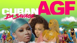 Смотреть клип Cuban Doll Ft. Rubi Rose & Renni Rucci - Agf