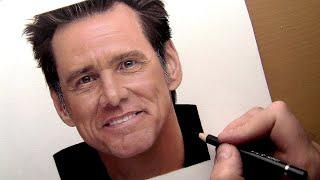 Drawing JIM CARREY || Colored Pencil Portrait