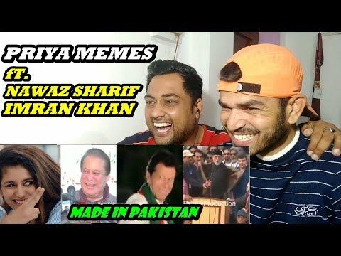 Indians React to Pakistani Memes on Priya Varrier | ft. Nawaz Sharif, Imran Khan |