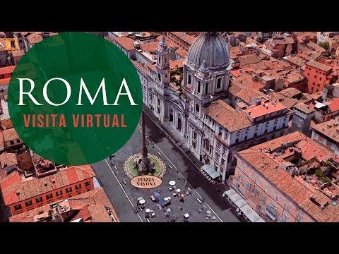 roma---visita-virtual-desde-el-aire