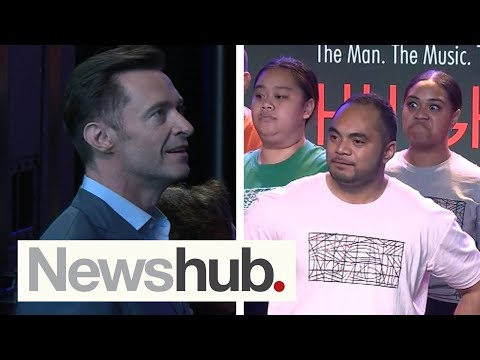 Hugh Jackman Tears Up At Moving Haka By South Auckland University Choir's Haka | Newshub