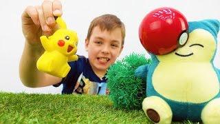 #Покемоны и #игробой Глеб: играем в прятки. Игры для мальчиков с покемон ГО.