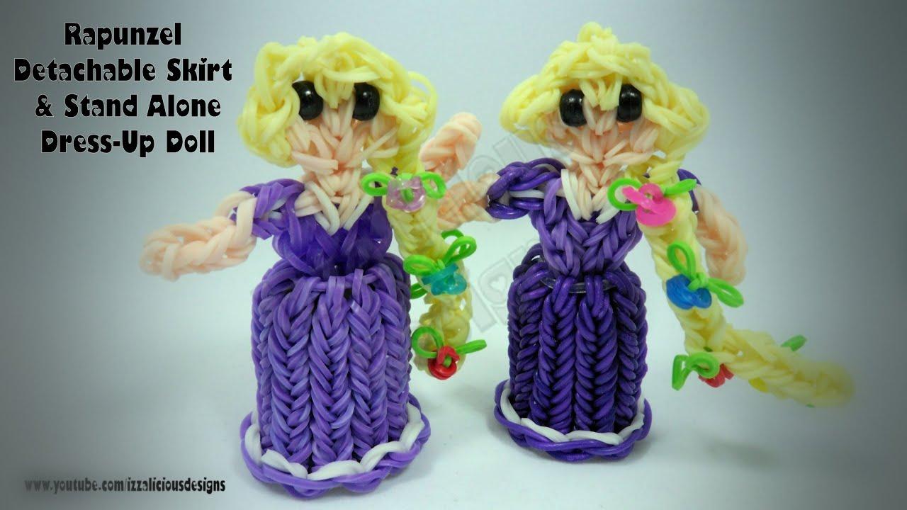 Rainbow Loom Princess Rapunzel Charm Action Figure