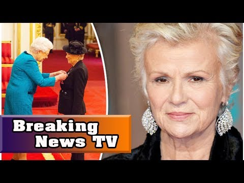 Julie walters becomes a dame at buckingham palace  Breaking News TV