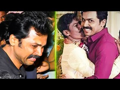 Karthi Cries Out Loud at his Fan's Funeral ! | Big Loss to Karthi | TK 768