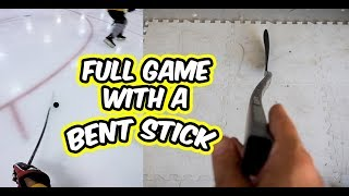Testing the BENT Elevate stick in a game