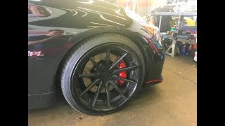 Infiniti Q50S with Z1 Slotted Rotors Front and Rear! Full Review