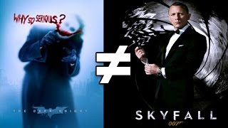 24 Reasons The Dark Knight & Skyfall Are Different