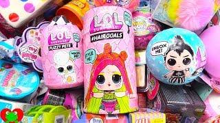 NEW LOL Dolls Hair Goals, Fuzzy Pets, Boys Pops Surprises
