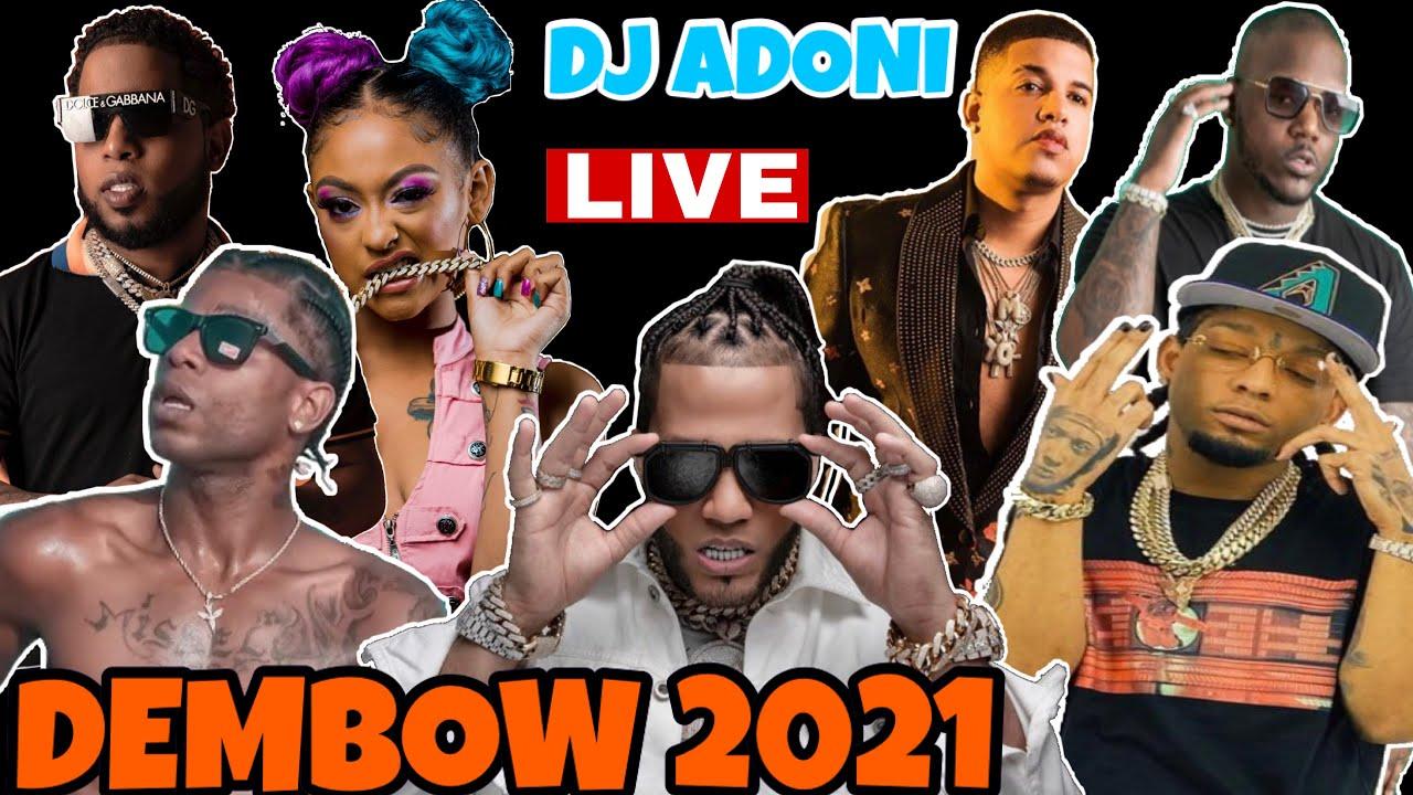 DEMBOW MIX 2021 VOL 4 ? LOS DEMBOW MAS PEGADO  2021? MEZCLANDO EN VIVO DJ ADONI ?