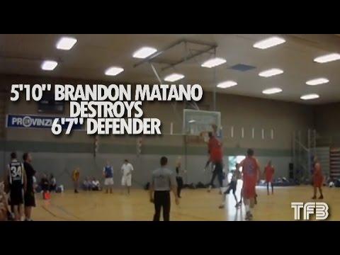 "5'10"" Brandon Matano BODYBAGS 6'7"" Defender in Germany | #SCTop10"