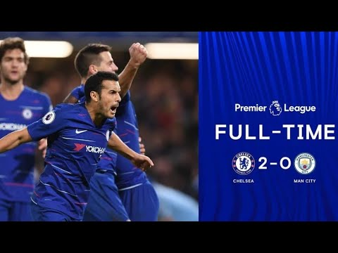 Chelsea Vs Man City 2-0 | All Goals Highlight 8/12/2018 | Ngolo Kante| David Luiz |