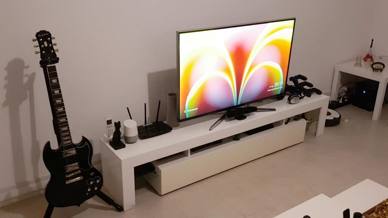 Google Home demo with Philips Hue and Chromecast