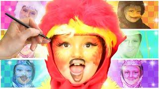 Phoenix Face Paint | Funtastic Playhouse