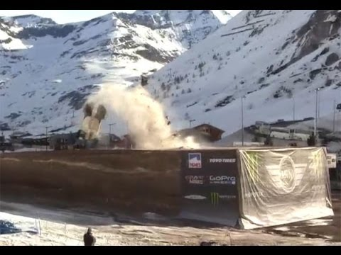 Driver Attempts 350-Plus-Foot World Record Jump, Crashes