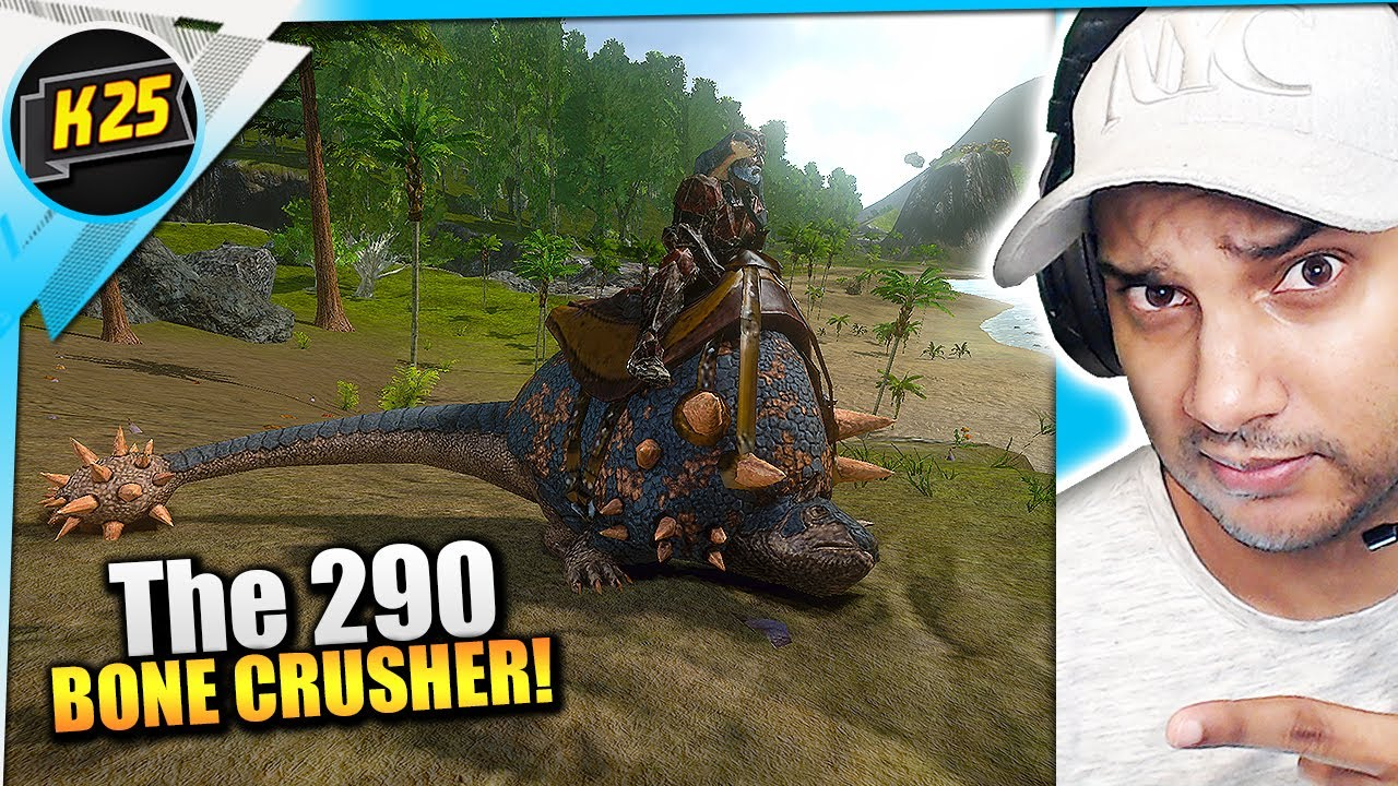 The ULTIMATE BONE CRUSHER! 290 Doedicurus Taming! | Let's Play Ark Mobile [Surviving Redwood Ep12]