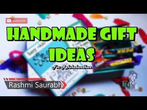 Handmade gift ideas for rakshabandhan | Handmade gift box | rakhi gift box | Rakhi Gift 🎁 2019