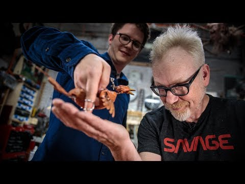 Adam Savage Meets Barnaby Dixon's Puppets!