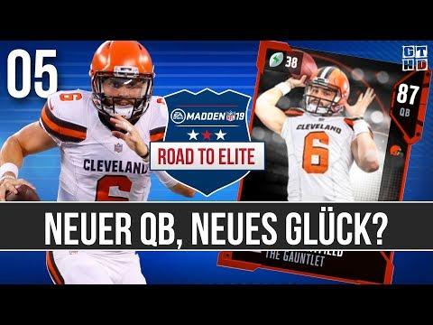 Madden 19 Road To Elite (Deutsch - MUT 19) #05 Neuer Quarterback, Neues Glück?