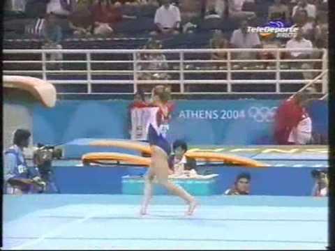 Courtney Kupets 2004 Olympics Qualifications Floor (USA)