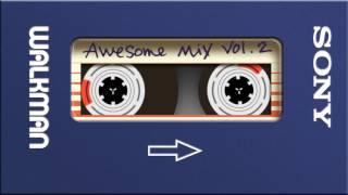 Awesome Mix Vol. 2 on a Virtual Walkman