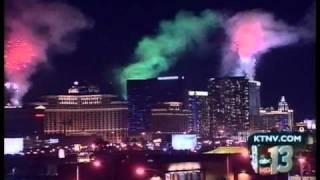 Las Vegas New Year's Eve 2011 fireworks