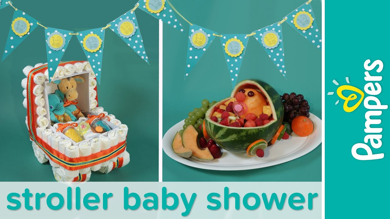 Baby Shower Themes How to Plan a Stroller Baby Shower Party