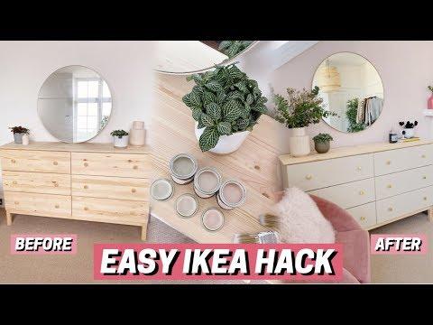 IKEA Furniture Hack + DIY ✨ It Looks SO Much Better!!