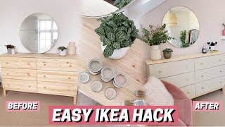 IKEA Furniture Hack + DIY ✨ It Looks SO Much Better!!
