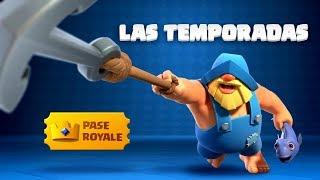 Clash Royale: ¡Presentando el Pass Royale y las Temporadas!