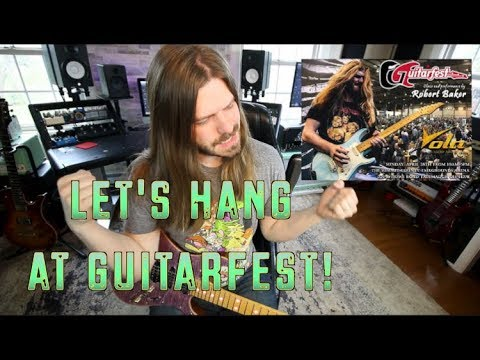 Let's Hang At Guitarfest THIS SUNDAY In Akron OHIO!!!