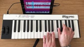 City Of Stars - La La Land with iRig Keys via Simply Piano