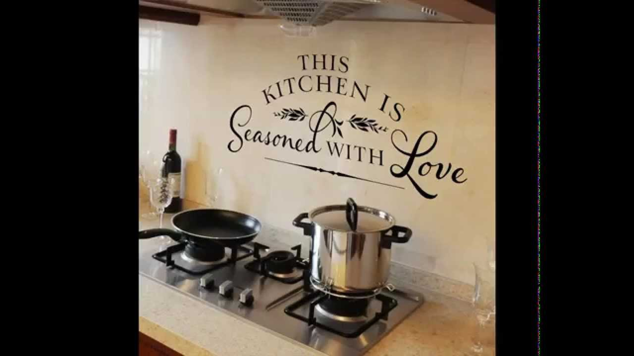 Decoraciones de paredes de cocinas youtube - Decoraciones de pared ...