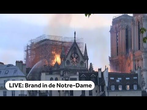 LIVE: Brand in Notre-Dame Parijs