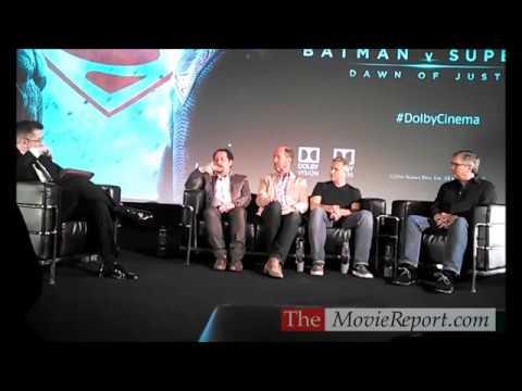BATMAN V SUPERMAN DAWN OF JUSTICE crew Q&A - March 23, 2016