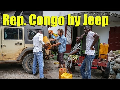 Rep. Congo by Jeep