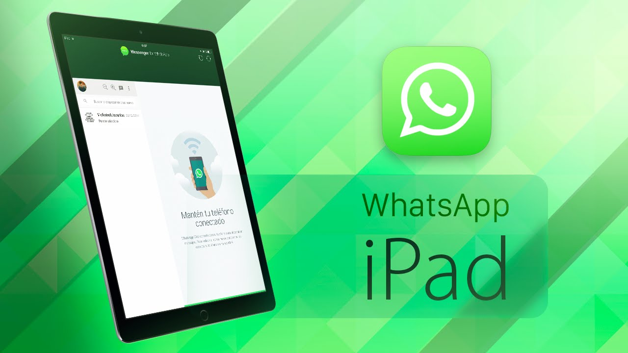 how to add whatsapp to ipad