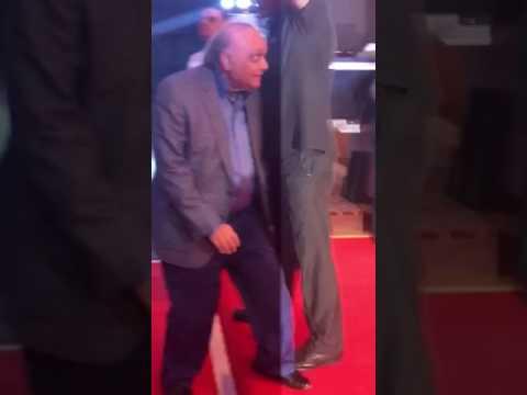 Film Producer Bharat Shah at Neil's wedding reception | SpotboyE