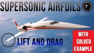 lift and drag on an airfoil