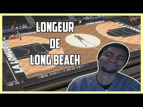 Création de la Longueur de Long Beach - NBA 2K18 Ma Ligue FR #1