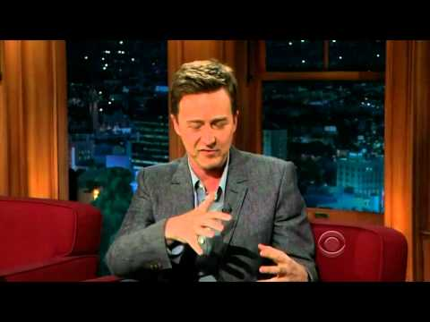 Edward Norton on Craig Ferguson 08.03.2012
