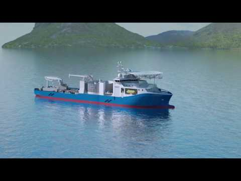 NKT cable-laying vessel