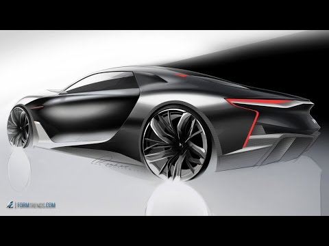 Meet the Designers: DS E-Tense concept