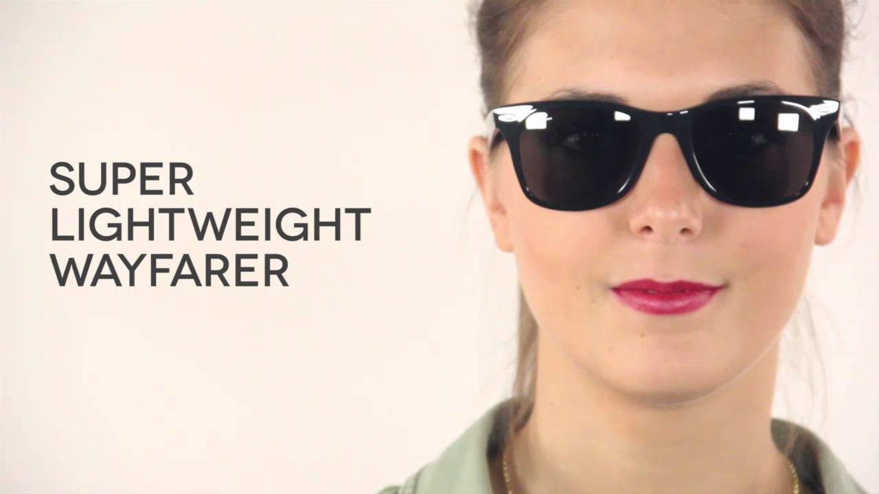 183b9c795 Ray-Ban RB4195 Wayfarer Liteforce Sunglasses Review | SmartBuyGlasses