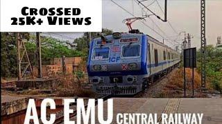 AC Local Of Central Railway - Harbour Line | Mumbai Local Train | #Singles | A S Freaks